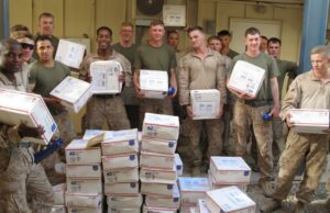 Creative care packages for the troops